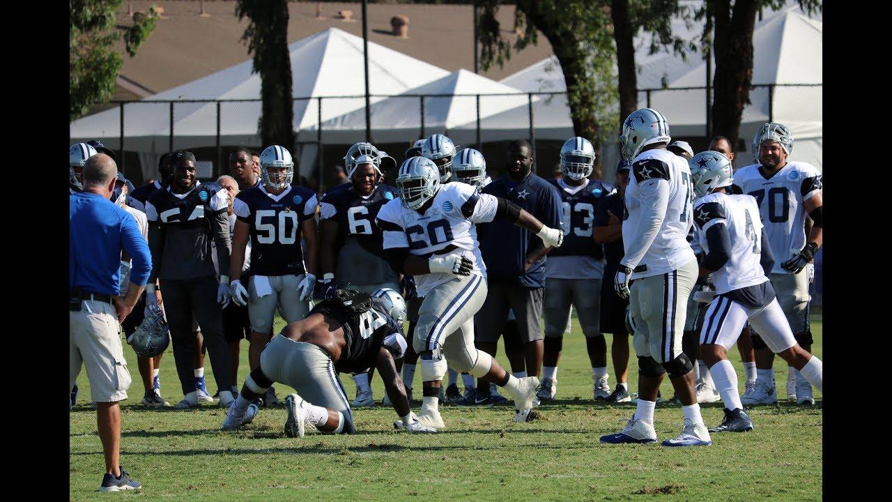 Cowboys Marcus Martin Training Camp Domination