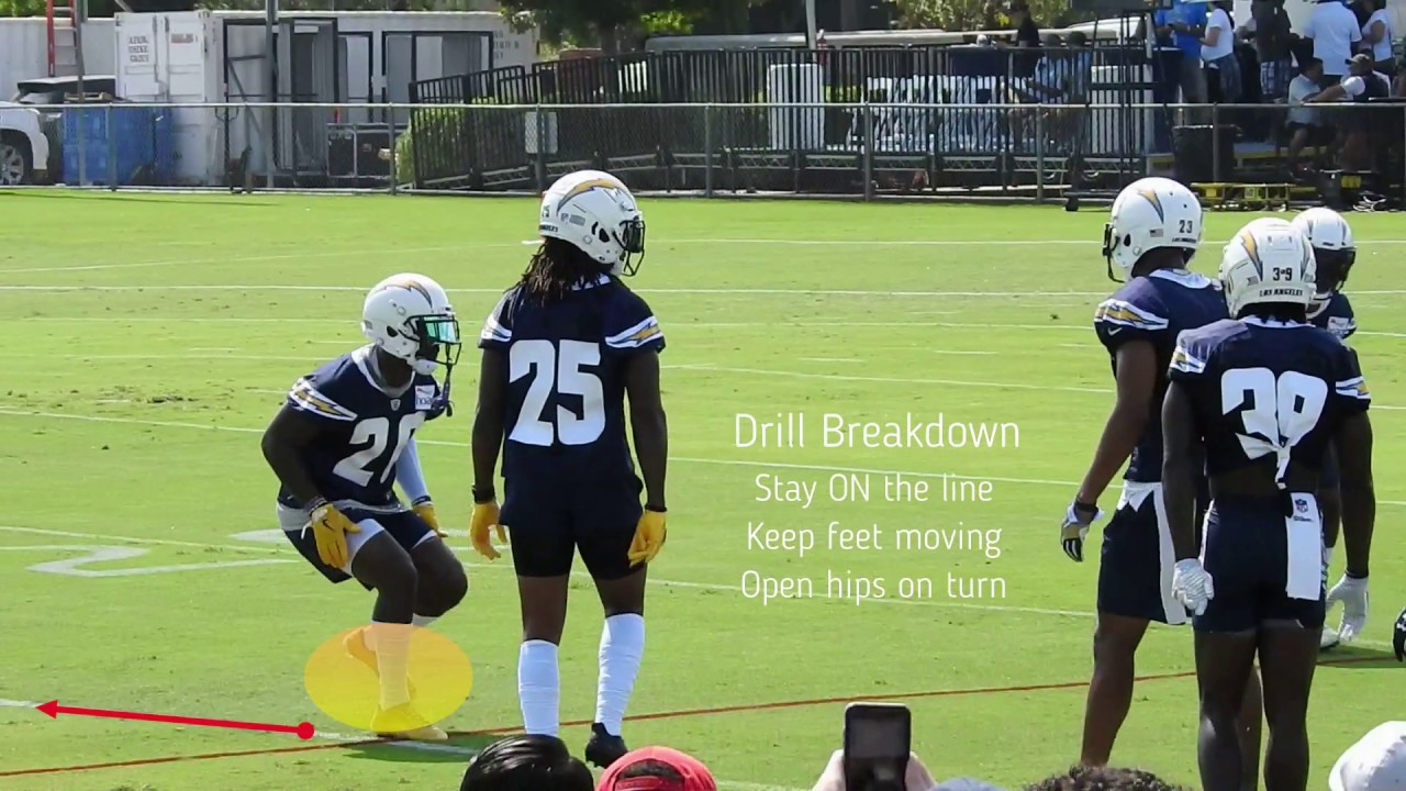Training Camp Breakdown – Chargers DBs On The Line