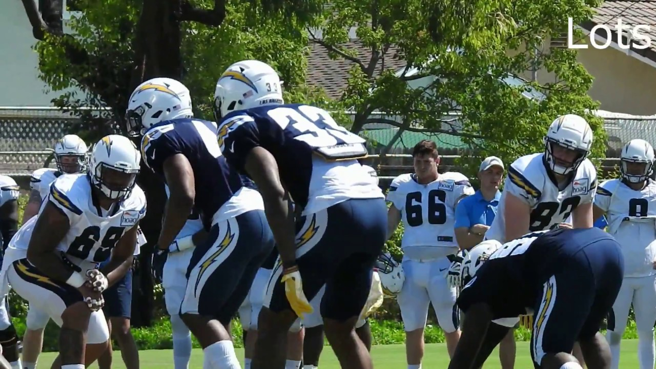 Chargers Blue-White Scrimmage