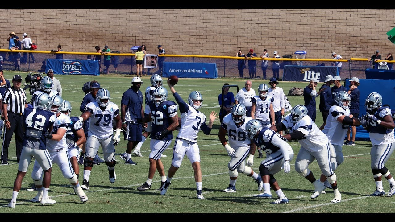 Cowboys Training Camp Spotlight
