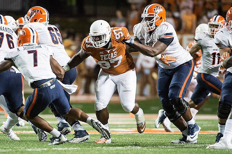 Interview with Texas DL Chris Nelson