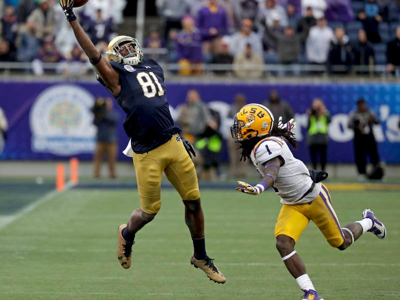 Interview with Notre Dame WR Miles Boykin