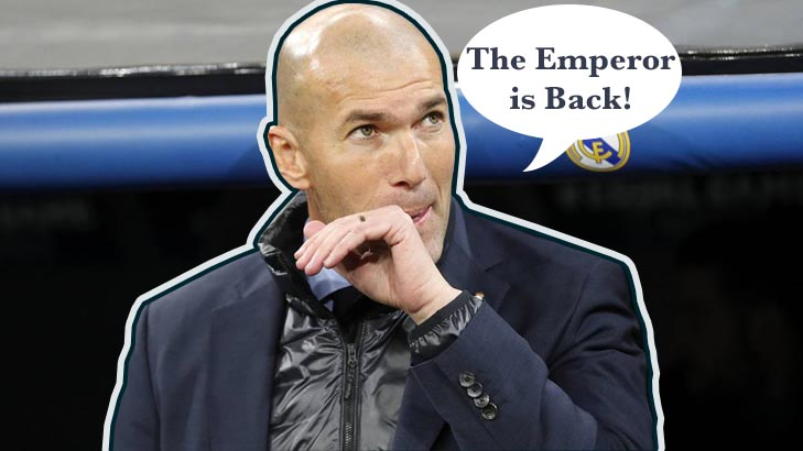 "Zinedine Zidane ""Zizu"" is back in Real Madrid"