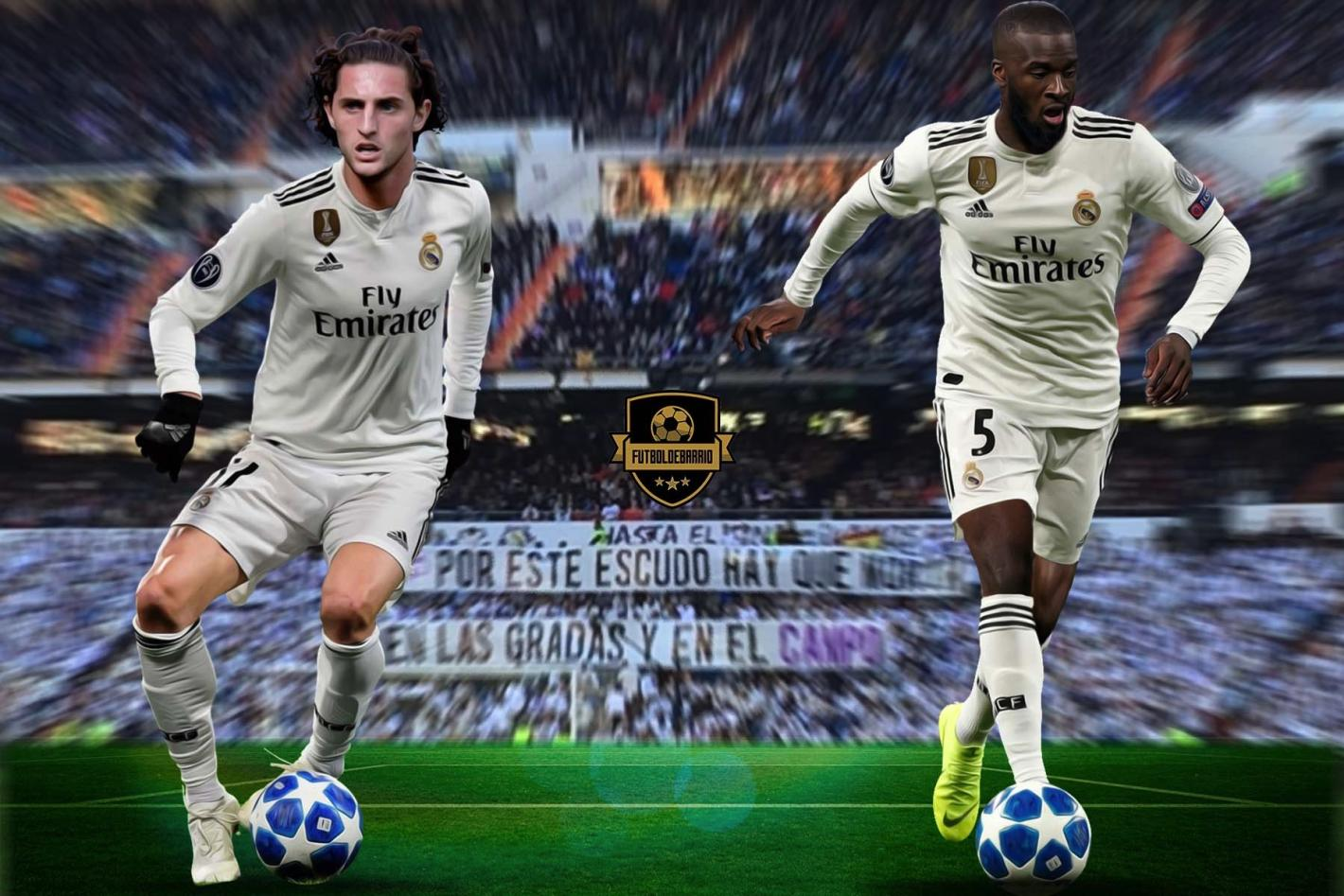 Tanguy Ndombele & Adrien Rabiot to Real Madrid