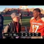 Interview with CB Jimmy Moreland JMU at Reese's Senior Bowl