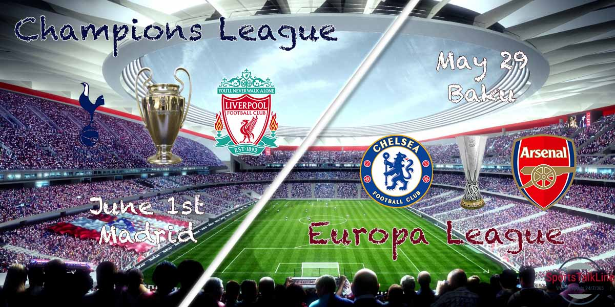 Champions And Europa League Finals