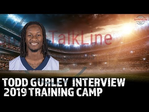 Todd Gurley Interview | Post Chargers Rams Scrimmage | Aug 1