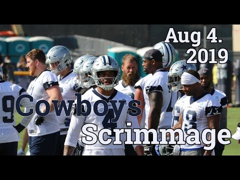 Cowboys Blue White Scrimmage Highlights 2019 | Aug 4th