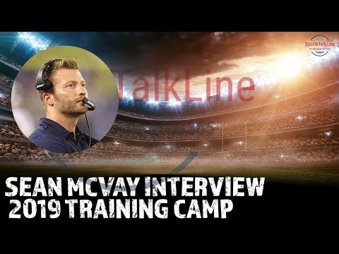 Sean McVay Interview | Post Chargers Rams Scrimmage | Aug 1