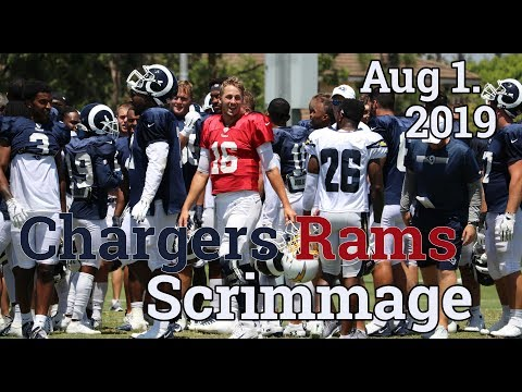 Chargers Rams Scrimmage 2019 | Aug 1st