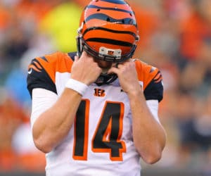 Andy Dalton preseason