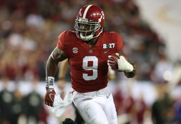 big sale 60d43 ecf71 Interview with Alabama RB Bo Scarbrough | Sports Talk Line