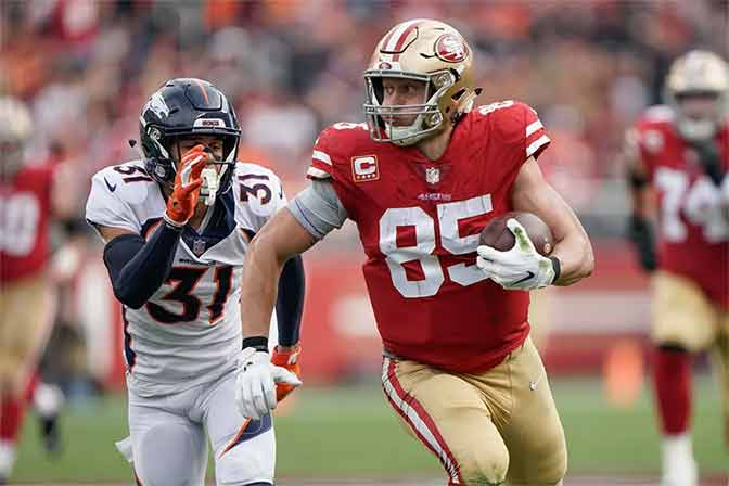 TE George Kittle 2019 Fantasy Outlook