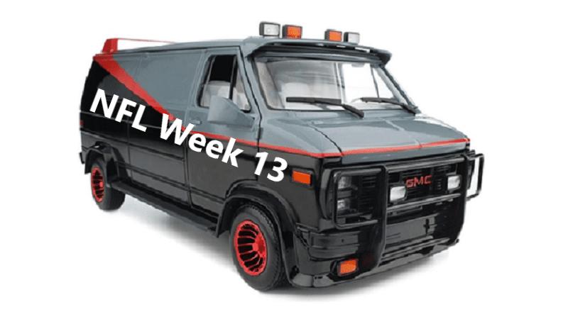 Sports-Van-A-Team - Week 13