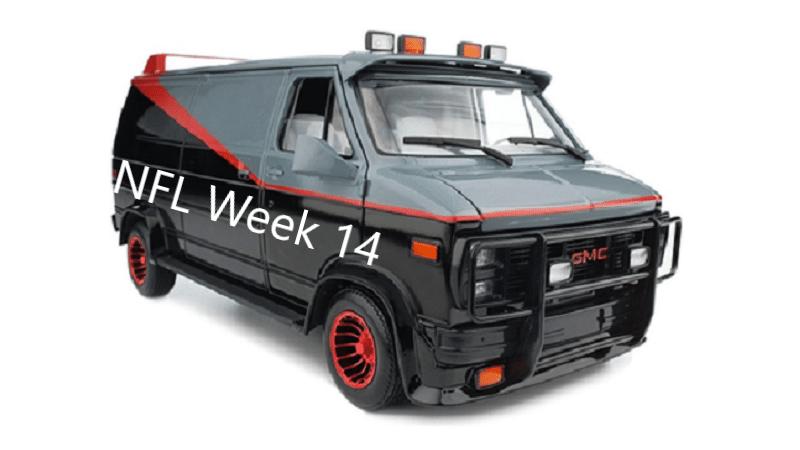 Sports-Van-A-Team - Week 14