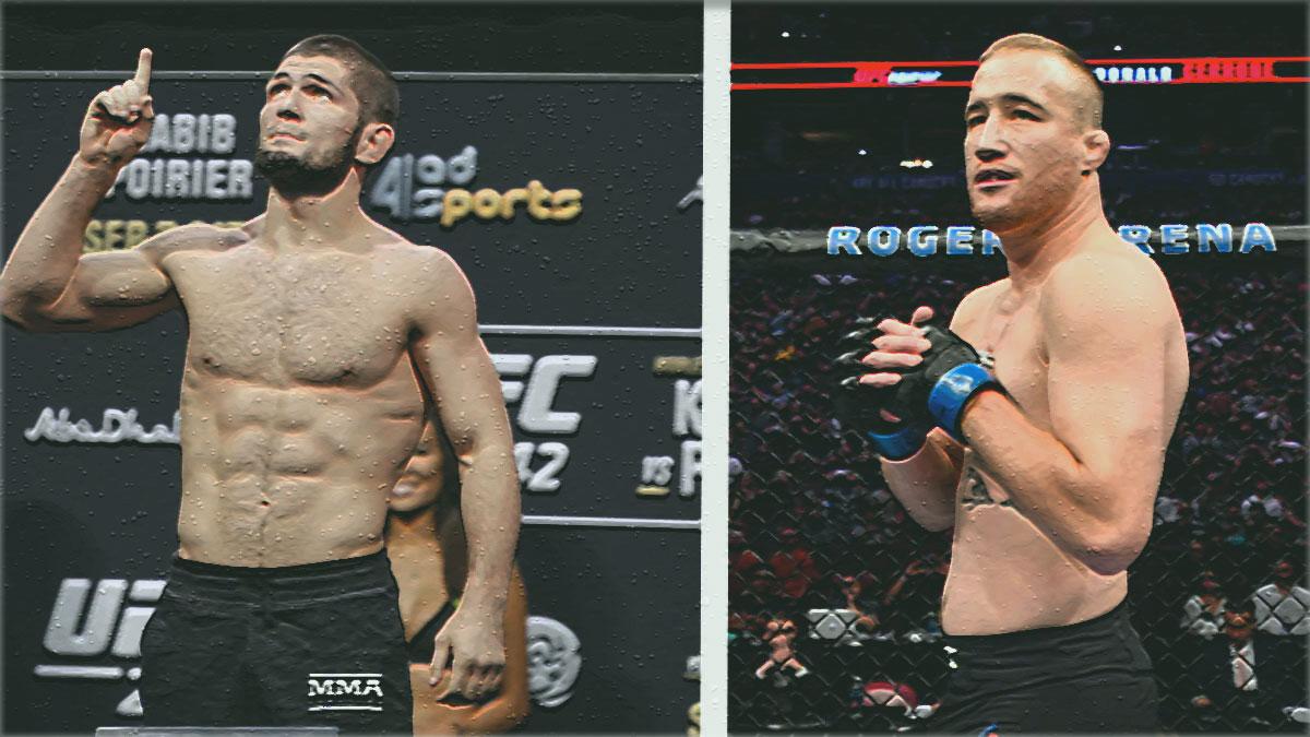 Khabib vs Gaethje UFC 254