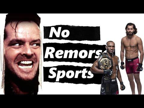 No Remorse Sports: Usman vs Masvidal Preview