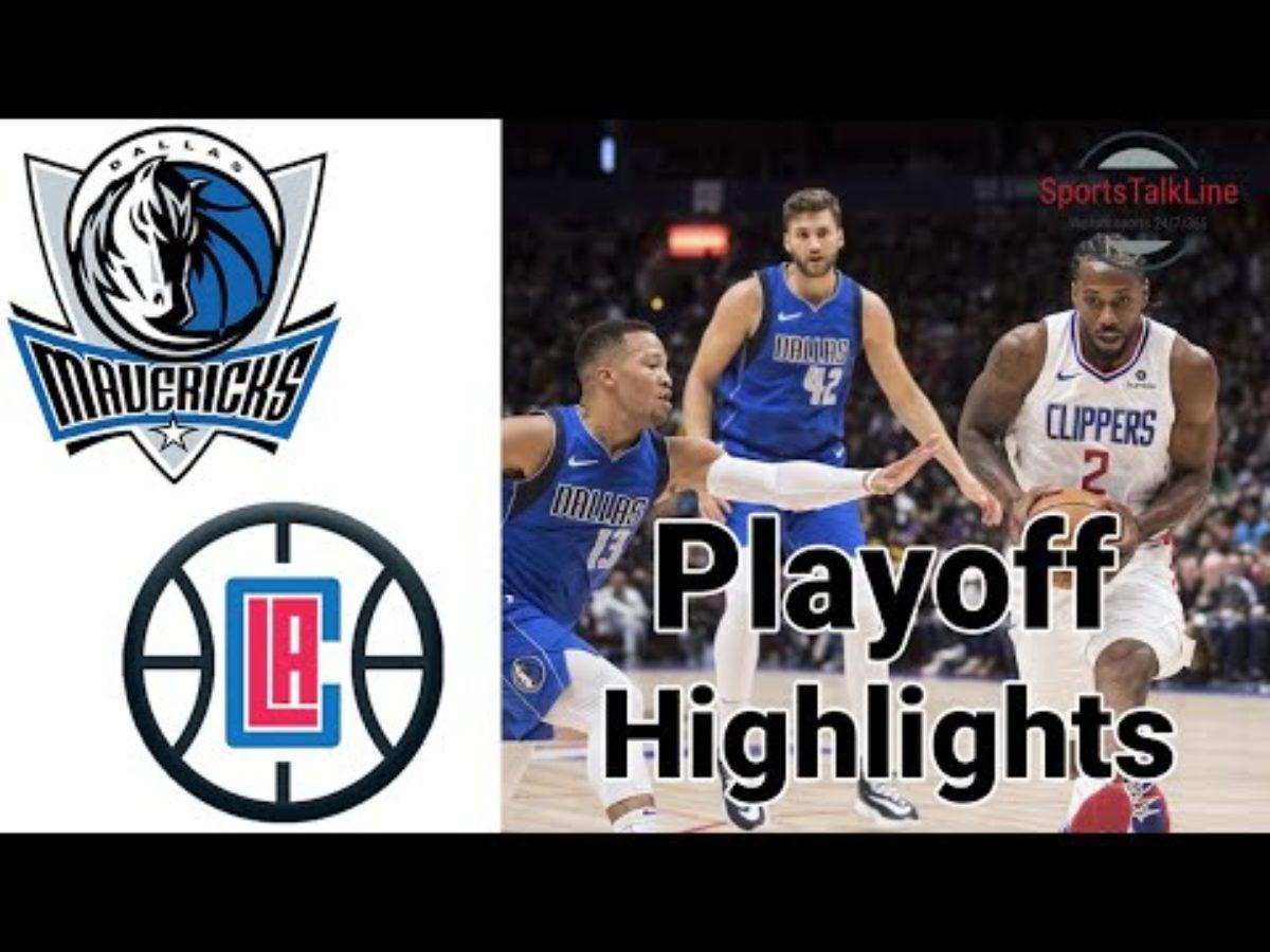 Mavericks Vs Clippers Playoff Highlights Game 1