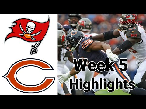 Thursday Night Football Bucs vs Bears Highlights Full Game | NFL Week 5