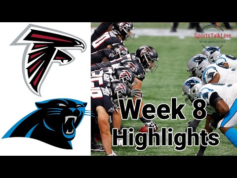 Thursday Night Football Falcons vs Panthers Highlights Full Game | NFL Week 8