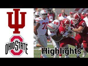 Hoosiers vs Buckeyes Highlights | NCAA Football |  Week 12