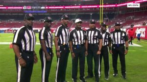 First NFL All-Black Officiating Crew