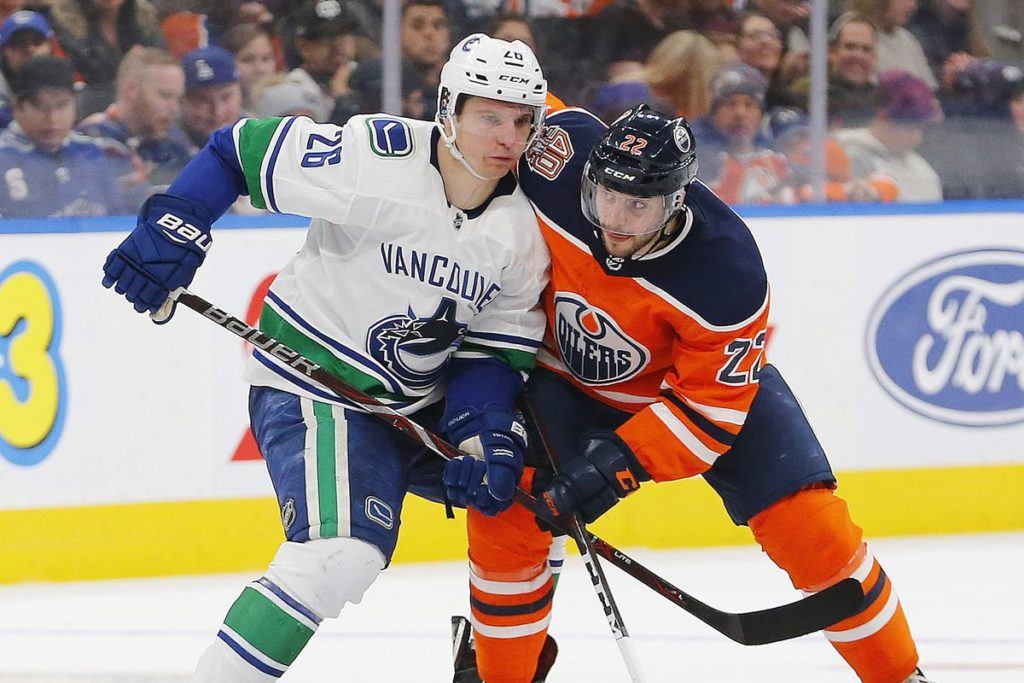 Canucks 4-3 Collapse To The Oilers