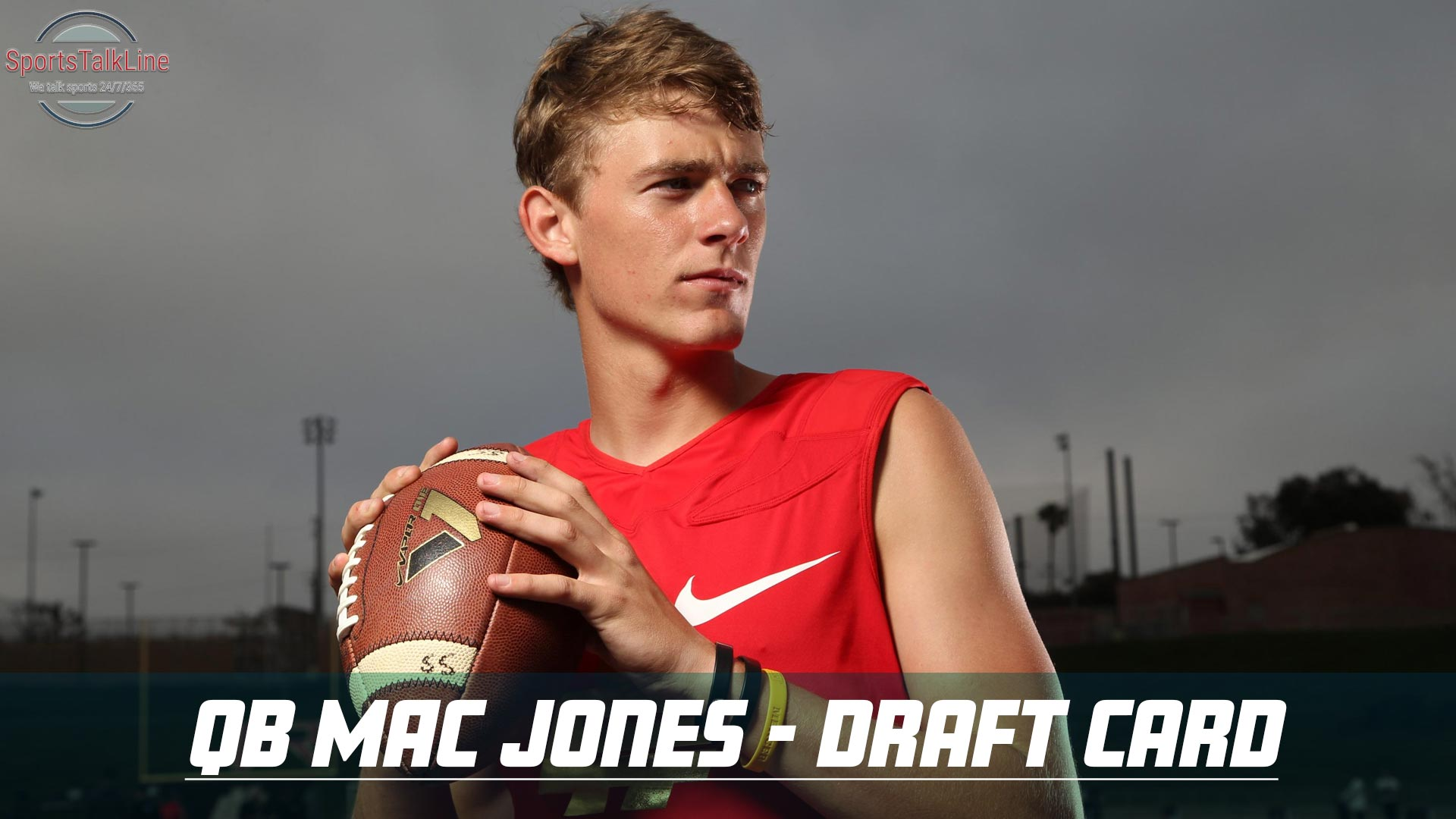 QB Mac Jones