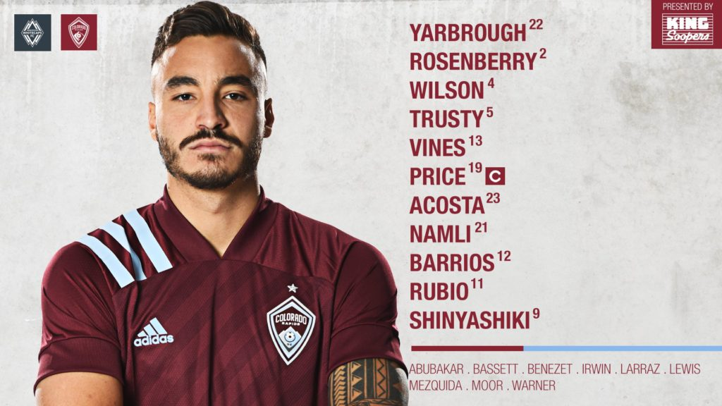 Whitecaps vs Rapids Preview Sunday, May 2nd 1