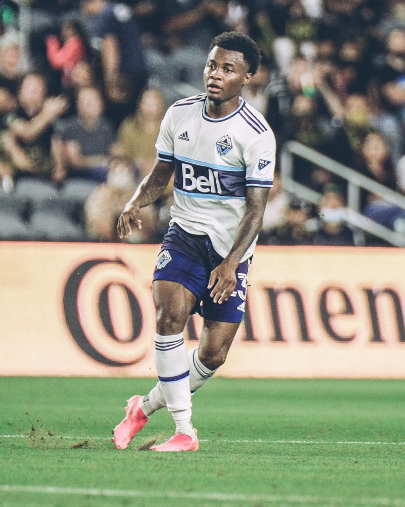 Whitecaps at LAFC Play To A Spirited 2-2 Draw 2