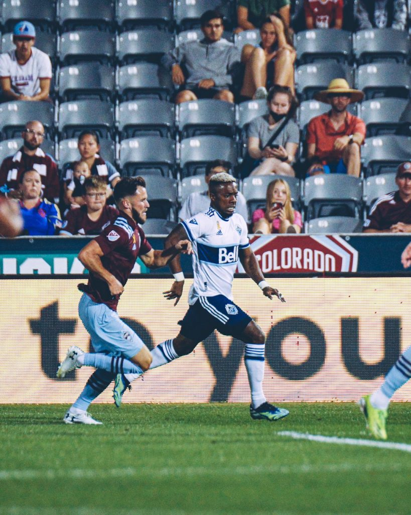 Whitecaps At Rapids Battle To A Hard Fought 1-1 Draw 1
