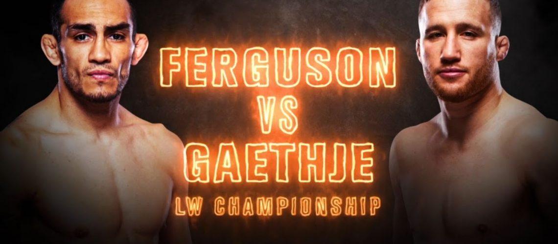 UFC 249 Ferguson vs Geathje